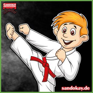 Kinder Karate erlernen - Kampfkunst der Kampfsportschule Sandokay aus Itzehoe