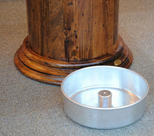 送料無料 超高級傘立て 傘立て おしゃれ アンブレラスタンド 円筒形 樽型 古木 真鍮 イタリア製 CAPANNI カパーニ