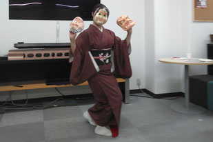 2月度諸々サロン定例会 藤間浩菊さんの日本舞踊