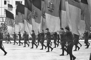 Siebrand Rehberg - 25. Jahrestag der DDR, Karl-Marx-Allee, 1974