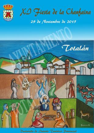 Fiesta de la Chanfaina en Totalán Programa