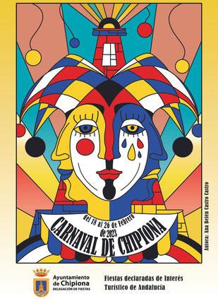 Cartel y programa del Carnaval de Chipiona