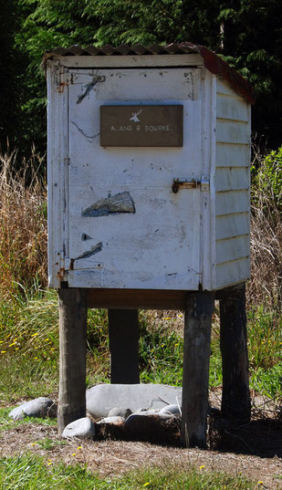 Farm post box in the Buller Valley