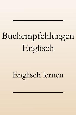 Englisch lernen, englische Bücher