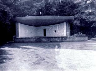 dudweiler, park, stadtpark, musikpavillon
