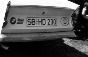 saarland, dudweiler, 1957, neue kennzeichen, kraftfahrzeuge, sb