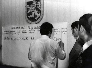 dudweiler, abstimmung, eingemeindung, 1972