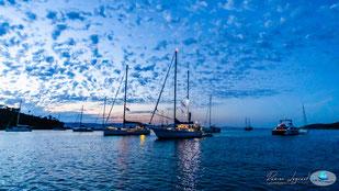 le 28 juin, Port Cros