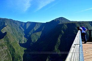 - Point de vue Bois Court - Grand Bassin - La Réunion -