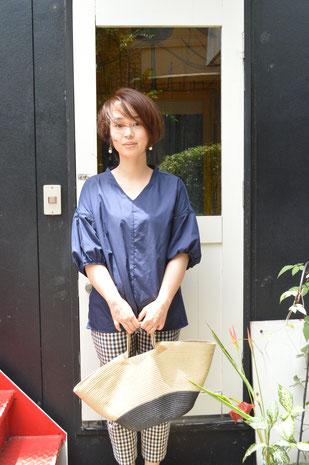 福岡 平尾美容室 ショートボブ ヘアカラー