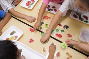 川崎市宮前区児童発達支援パオの療育についての教材写真