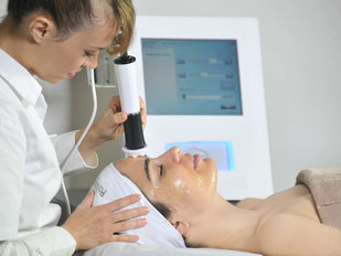 Mikrodermabrasion, Microdermabrasion, OxyGeneo Behandlung Basel, anti-aging Behandlung Basel