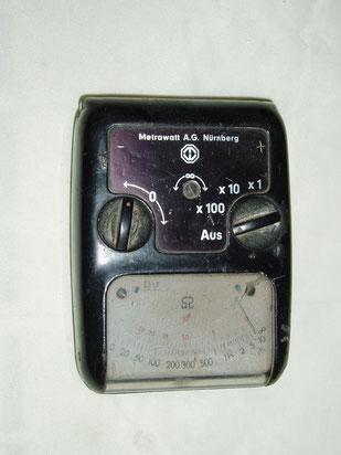 Metrawatt  Taschen Widerstands Messgerät und Kapazität