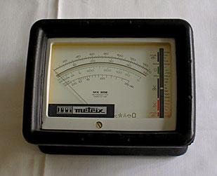 Metrix Frankreich - Multimeter Typ. 202