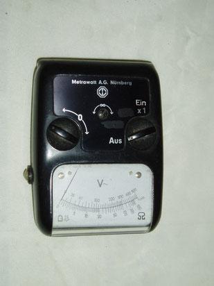 Metrawatt  Taschen Volt und Widerstands Messgerät
