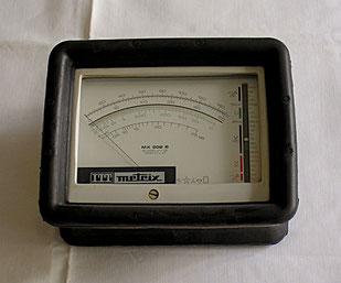 Metrix Frankreich - Multimeter Typ. 202 B