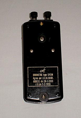 Leitungsprüfer Typ. GP2M J. Carpentier Paris 1955