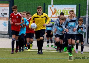 Bilder des D- Junioren Turniers vom Sonntag