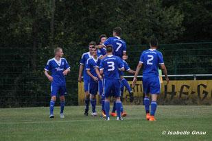Das 3:0 von Lukas Münch gegen den TSV Elnhausen
