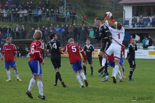 Verbandsligaspiel gegen den FC Ederbergland