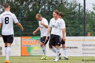 Alle drei Tore erzielt- Andreas Schoch nach dem 2:0