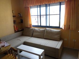 Wohnzimmereck mit Bettcouch (Doppelbett)