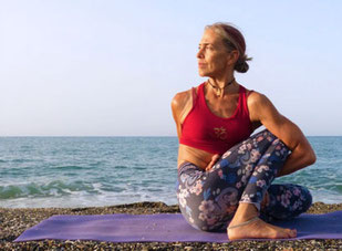 Ashtanga Yoga Inspiration's Andrea Panzer at the Costa del Sol