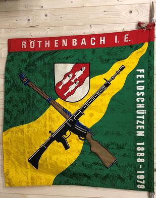 Vereinsfahne seit 1979