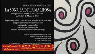 Exposición individual en Barcelona - Sky Gallery Art's - La sonrisa de la Mariposa