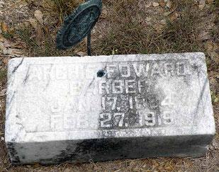 Tombe de Archie - Archie's grave - FindaGrave.com