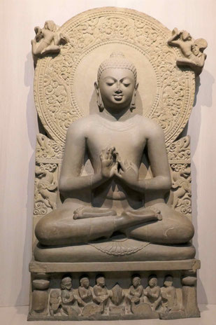 Predigender Buddha, Sarnath 5. Jhdt. u.Z.
