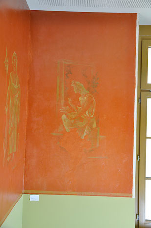 Pierre Estoppey, West-Wand, nach den Massnahmen, Atelier Bacher Tillmanns Vaud
