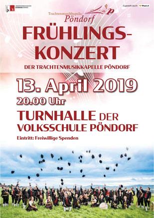 Frühlingskonzert TMK Pöndorf 2019