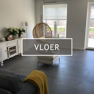 beton cire vloer grijs kleur Nederland