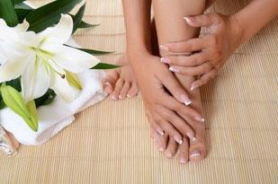 Kosmetikstudio-Gesunde Blüte