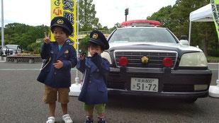 奈良クラブ イベント パトカー 交通安全
