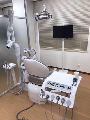 新川崎 歯医者 清潔な治療室