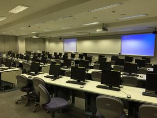 中京大学教室風景