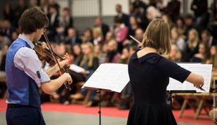 violine viola uni bielefeld absolventenfeier