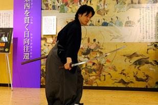 刀剣勉強会の講師「太田光柾氏」歌仙拵も披露されます!