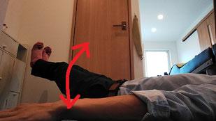 奈良県大和高田市の腹筋を鍛えて腰椎ヘルニアを治す男性