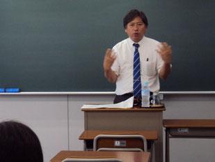 熊本弁で熱く語ってくれる齊藤先生