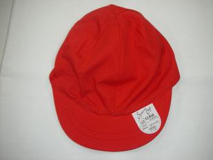 体育用紅白帽子(綿)