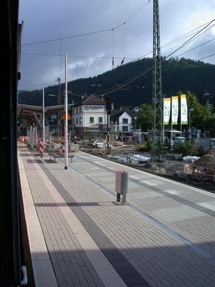 Rückbau der Ortsgüteranlage in Altenhudem (2007)