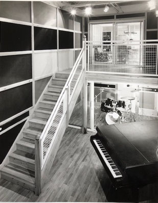 Studio One recording area from top of stairs (Photo: Ian Tompson)
