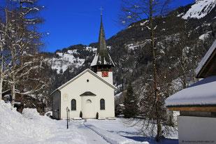 Lauterbrunnen - Grütschalp - Mürren - Allmendhubel - 10.02.2015
