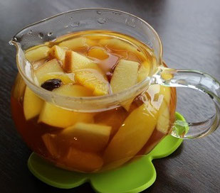 金花茶フルーツティー