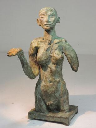 Figur 257, Bronze, 2015, 23,5x10x14cm