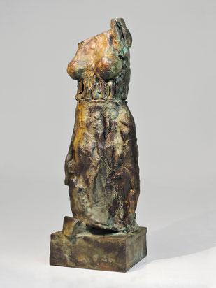 Figur 256, Bronze 2015, 23,5x7,5x7,5cm