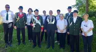 Schützenfest in Gladbach am 2. Juni 2019